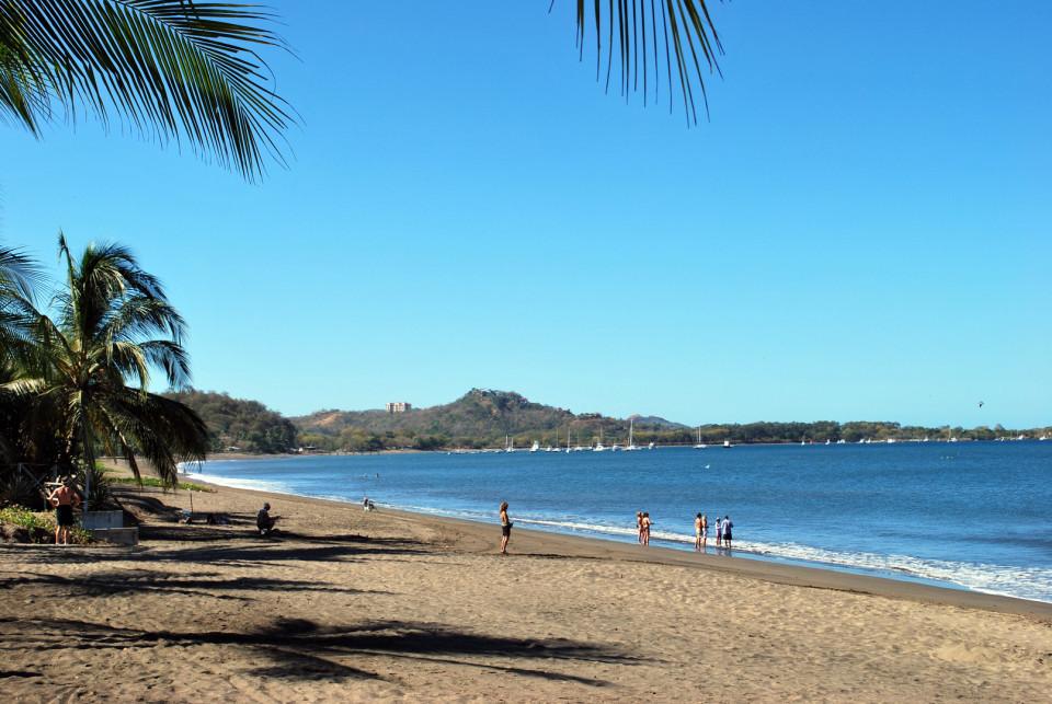Bahia Potrero Beach in Playa Potrero, Guanacaste, Costa Rica