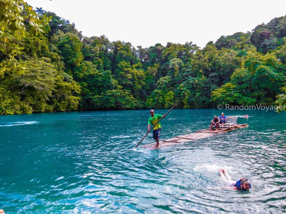 Rafting in Blue Lagoon