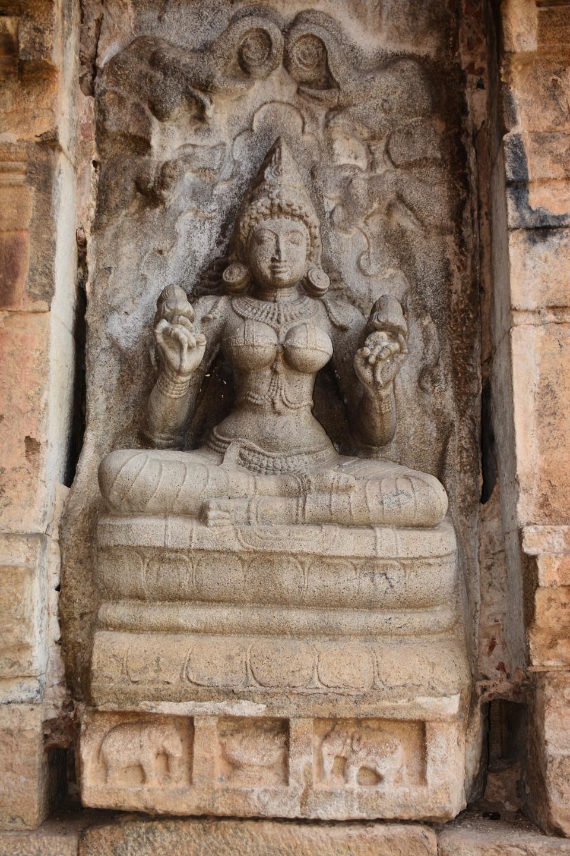Gajalakshmi on the southern Niche