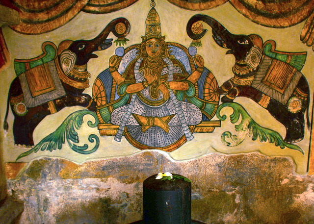 Paintings done during Maratha period when it got its name - Brihadeeswara Temple