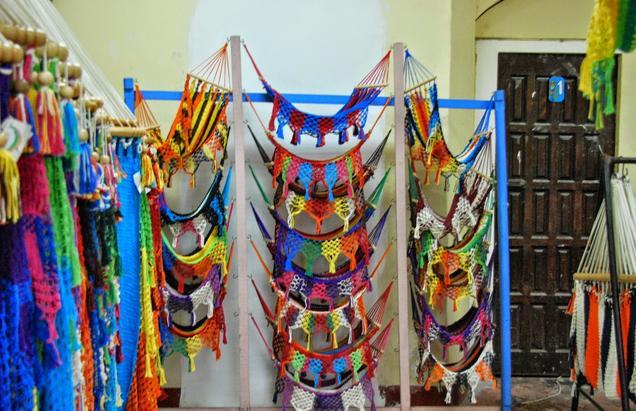 The weaving center