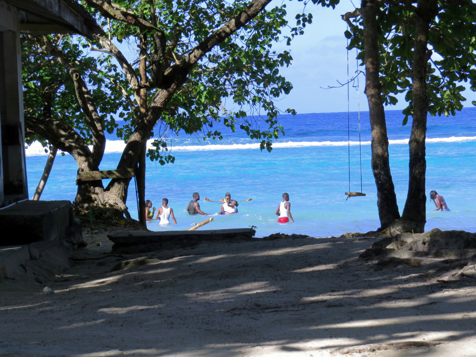 Winifreds Beach, Portland Parish, Jamaica - Relaxing beach but a long hike if one does not have the car