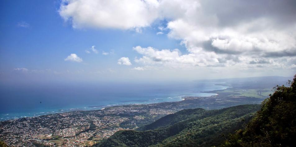 View of Puerto Plata from Isabel de Torres