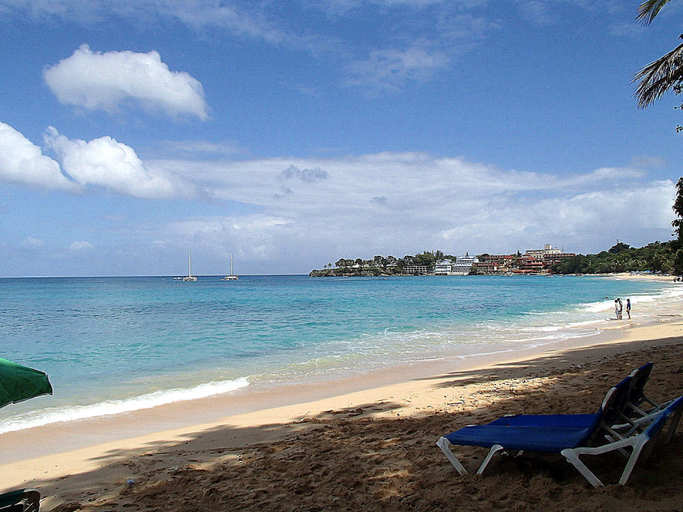 Sosua Beach, Puerto Plata, Dominican Republic - Beach is good for snorkeling in Puerto Plata