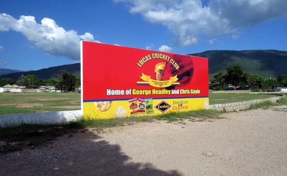 Lucas Cricket Club - Club of Chris Gayle, another hero from Jamaica