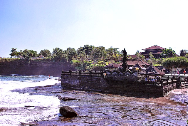 Pura Penyawang - People use this temple for praying when the hightides does not allow them to go to Pura Tanah Lot