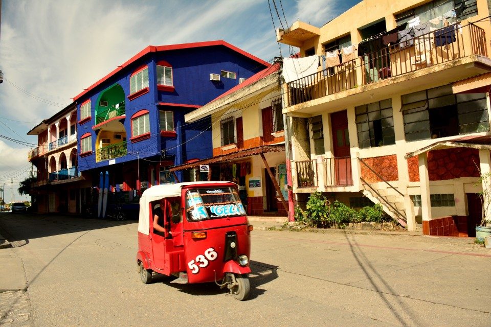 Bajaj autorichshaws or tuk-tuks rule the island.