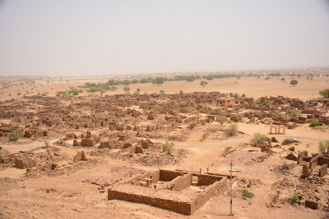 View of the village from Kaba fort