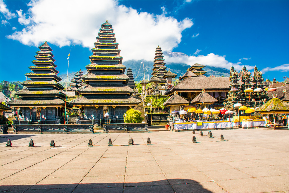 Center of Pura Penataran Agung