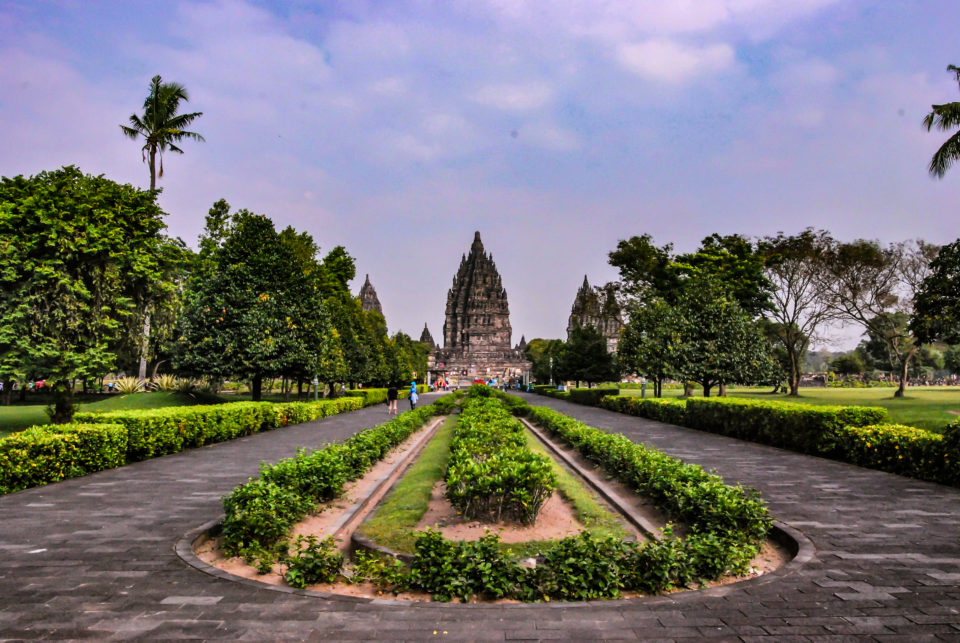 Prambanan Temple Compound  Entrance