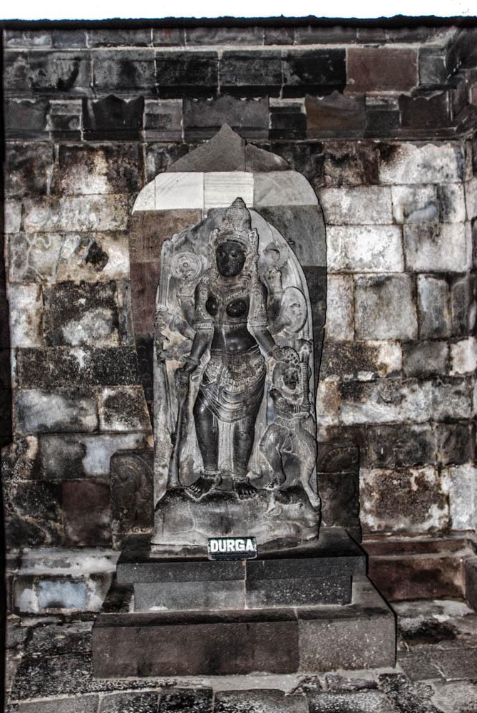 Durga Mahisasura Mardini inside Shiva Temple - believed to be deified image of Princess Roro Jonggrang