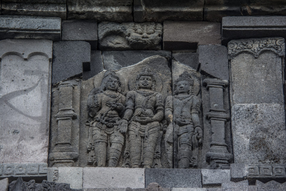 Rama with Lakshmana and Sita Devi