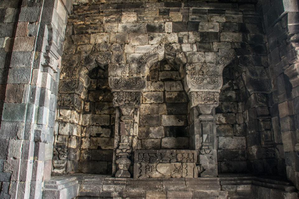 Main chamber where the bronze statue of Manjushri is missing