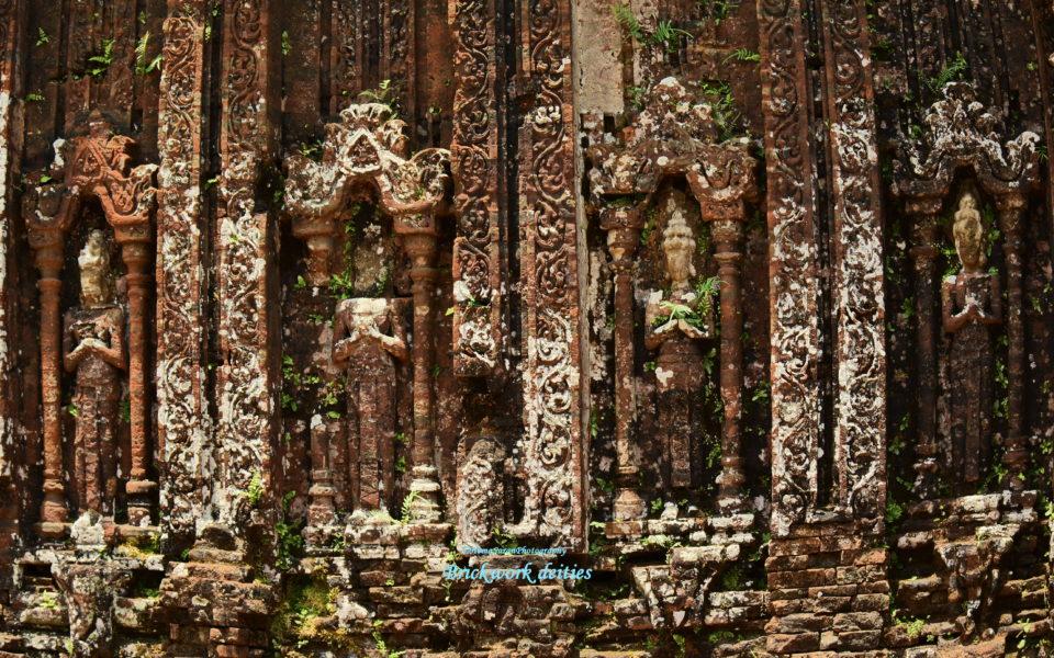Brickwork deities