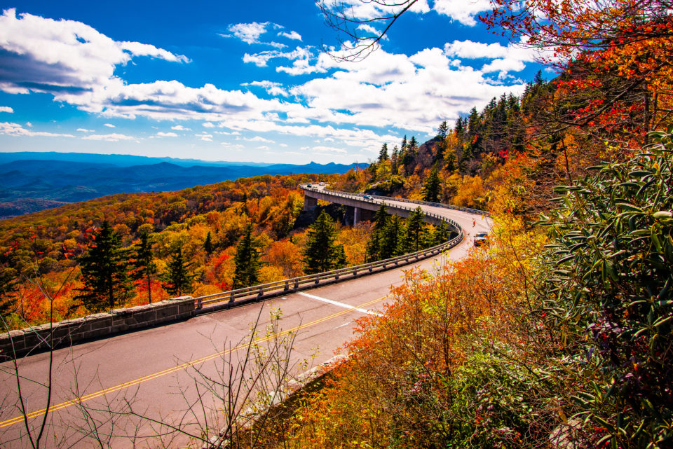 Linn Cove Viaduct, BlueRidge Parkway, North Carolina