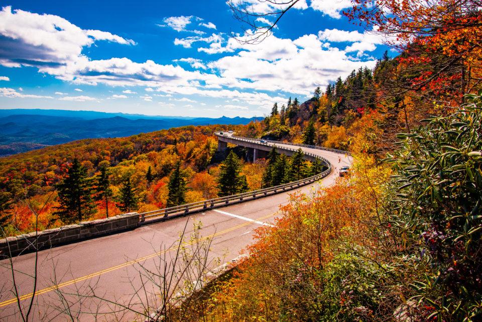 Linn Cove Viaduct, BlueRidge Parkway, North Carolina