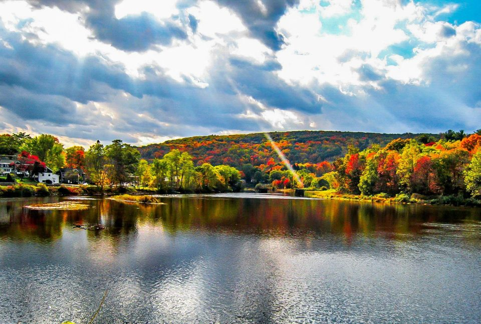 Bear Mountain State Park, NY - Situated on the mountains on the banks of Hudson river, this place is about an hour and fifteen minutes from New York City.