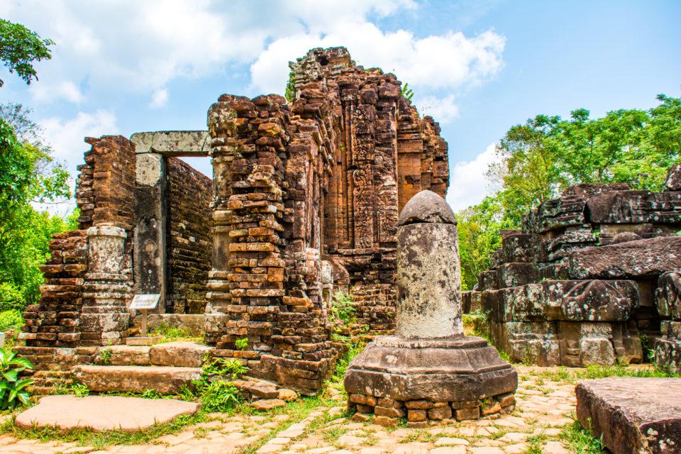 Unique Shiva Lingam in the MySon temple complex, Vietnam