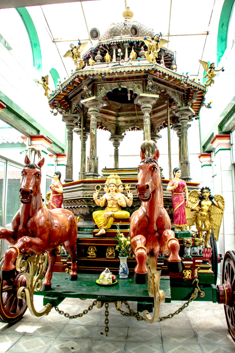 Chariot at Thendayuthapani or Thandayuthapani Hindu temple, Ho Chi Minh City