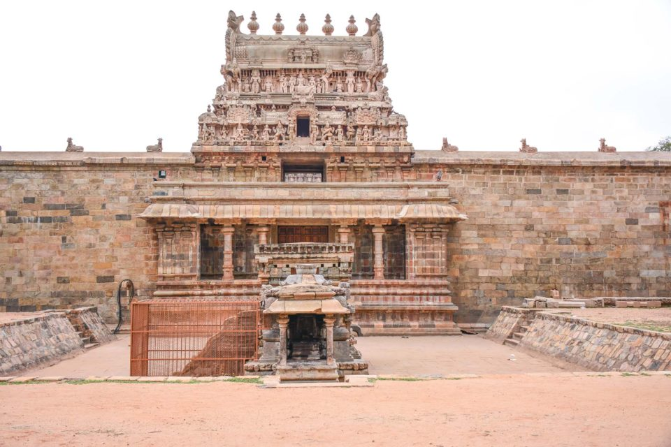 Entrance to the Dharasuram Temple