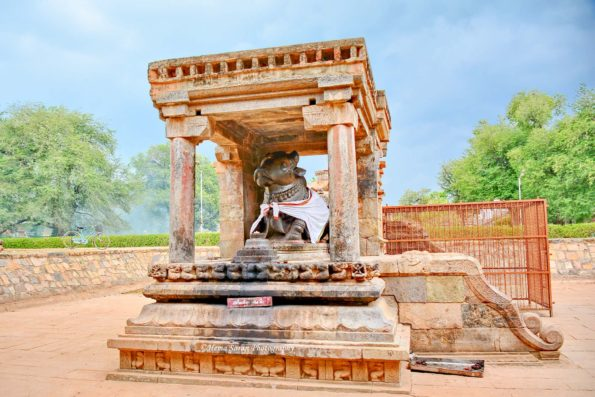 Nandi - Shiva's Vehicle in Dharasuram