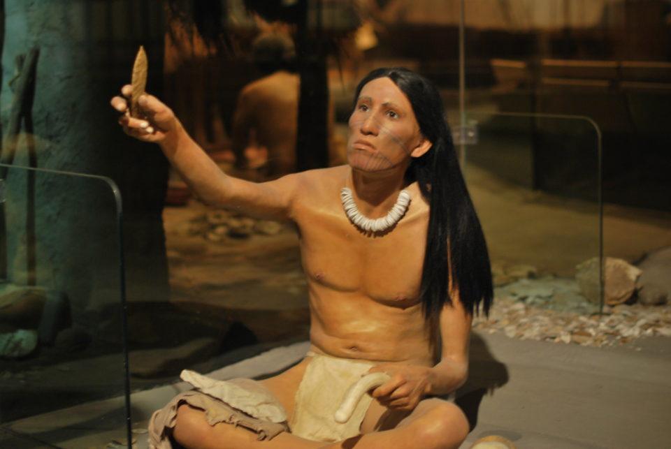 Lifesize Diorama in the museum of the Interpretative Center