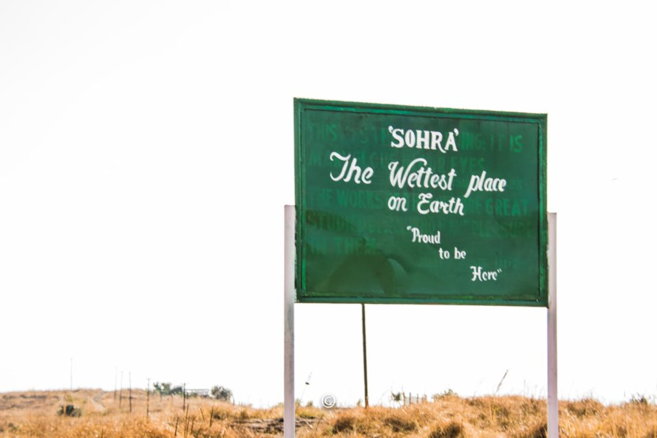 Sohra which has Cherrapunji is the wetest place in the earth.